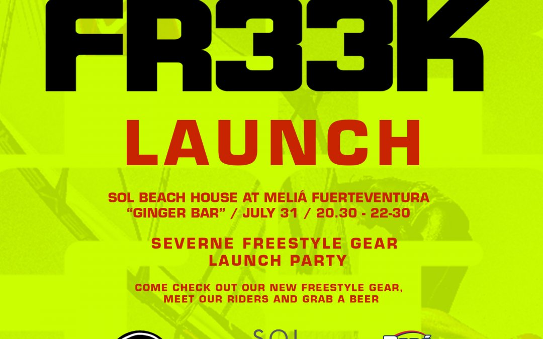 Freek freestyle launch in Fuerteventura