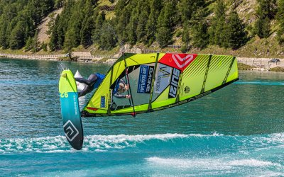Flying high in the Swiss Alps – Severne dominates Engadinwind Foil Mania