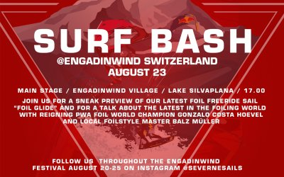 Severne Surf Bash at Engadinwind Silvaplana