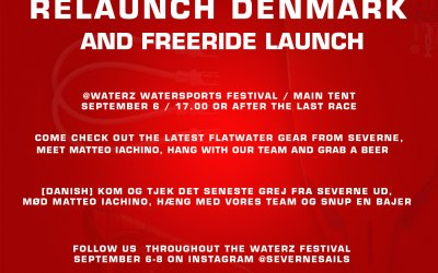 Severne launches new gear and relaunches in Denmark
