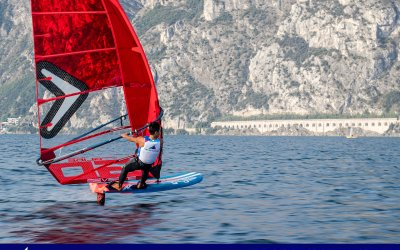 Hyper Glide – Windsurfer sea trials in Italy