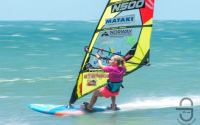 Oda Johanne reports from the 2019 WindJeri contest