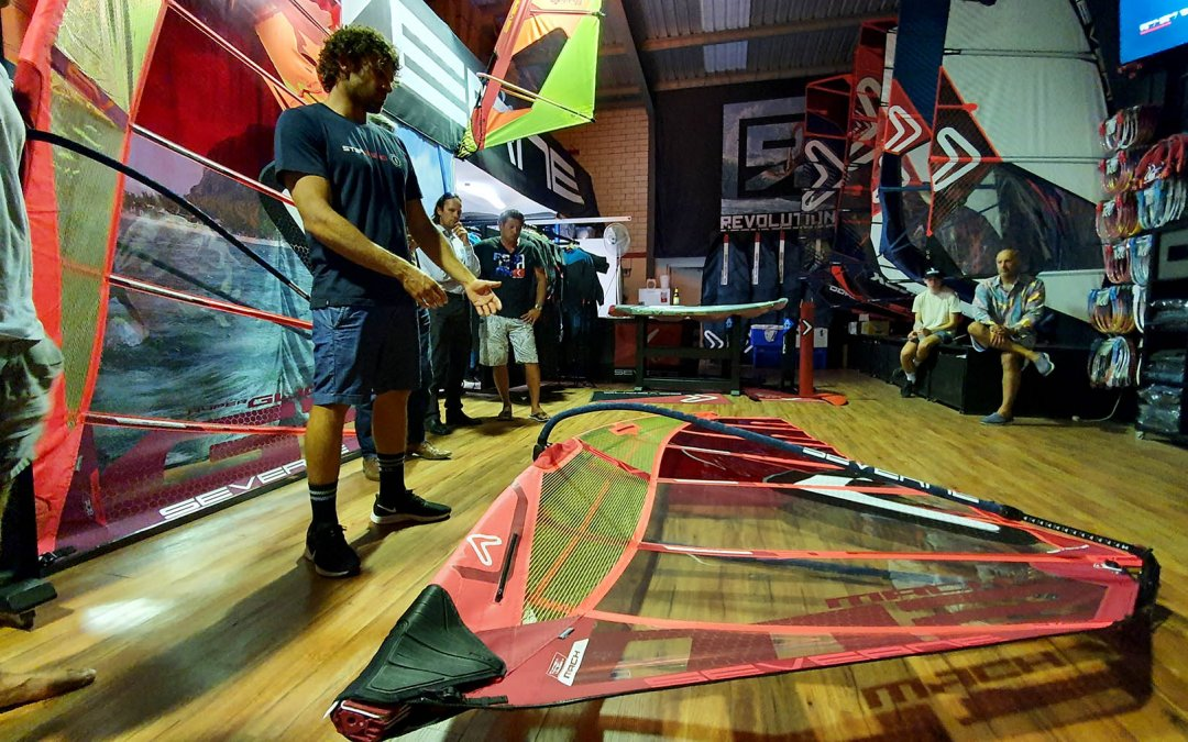 Matteo Iachino visits Revolution Boardsports