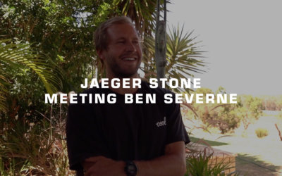 When Jaeger Stone first met Ben Severne