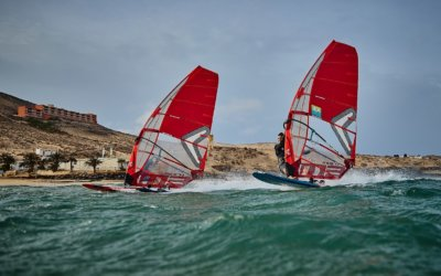 Foiling, racing and free riding at 2020 René Egli test week