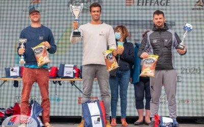Tristan Algret wins first French Championship tour event in Dunkerque, France