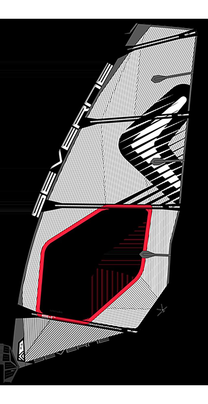 Severne S-1 Pro 020 - Wave sail