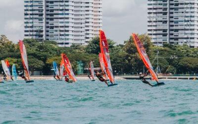 A successful 2020 Singapore wind foil nationals