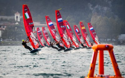 Lake Garda, Italy sets the scene for historical iQFOiL event