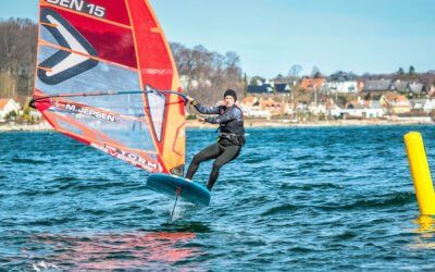 [VIDEO] Racing season kicks off in Denmark with Easter foil training