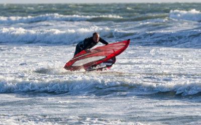 Dyno board setup with SImon Bornhoft part 14 – carving downwind 360