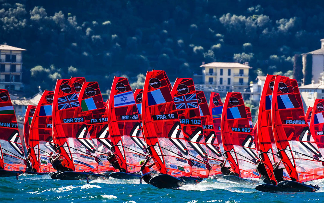 Another successful iQFOiL event at Lake Garda, Italy