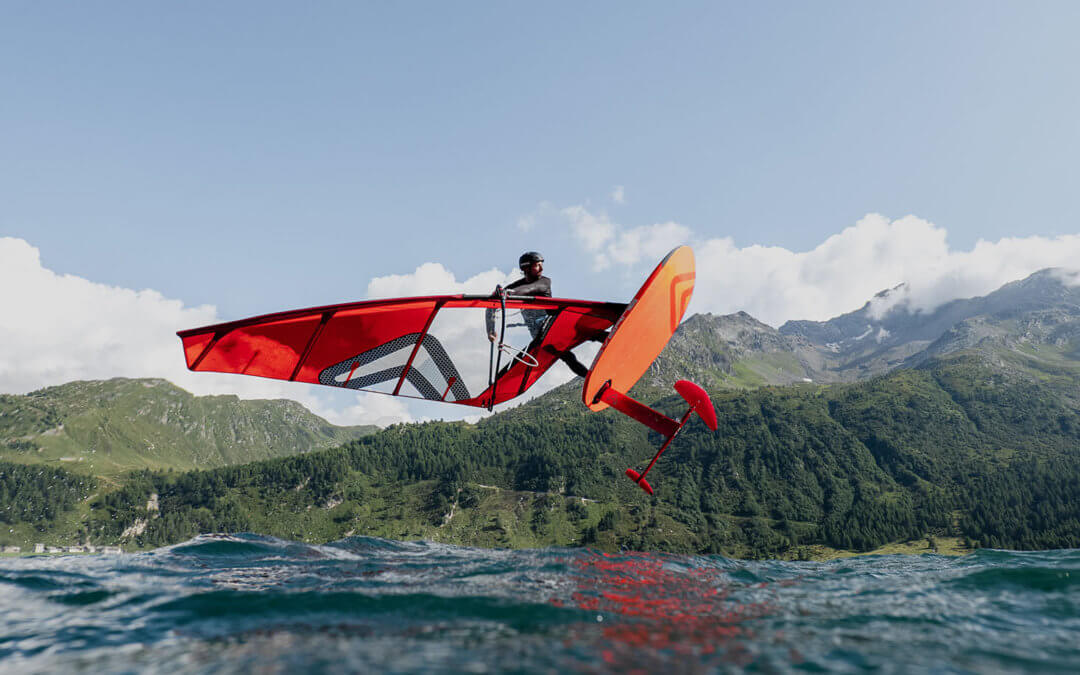Engadinwind 2021 – A new Severne board is launched, iQFOiL and FoilFreestyle world champions crowned