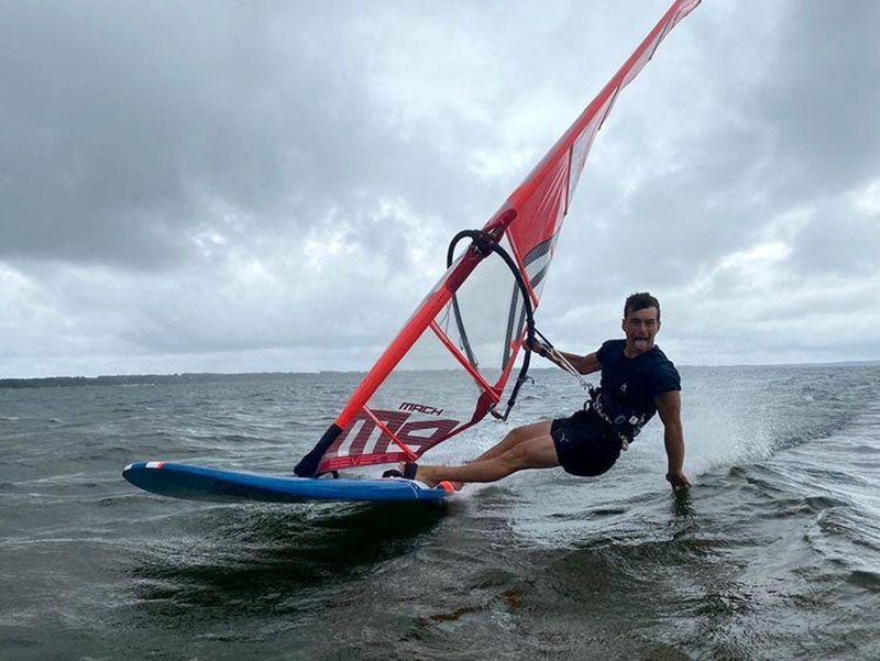 Catching up with the 2021 IFCA SLALOM Youth World Champion Benoit Merceur